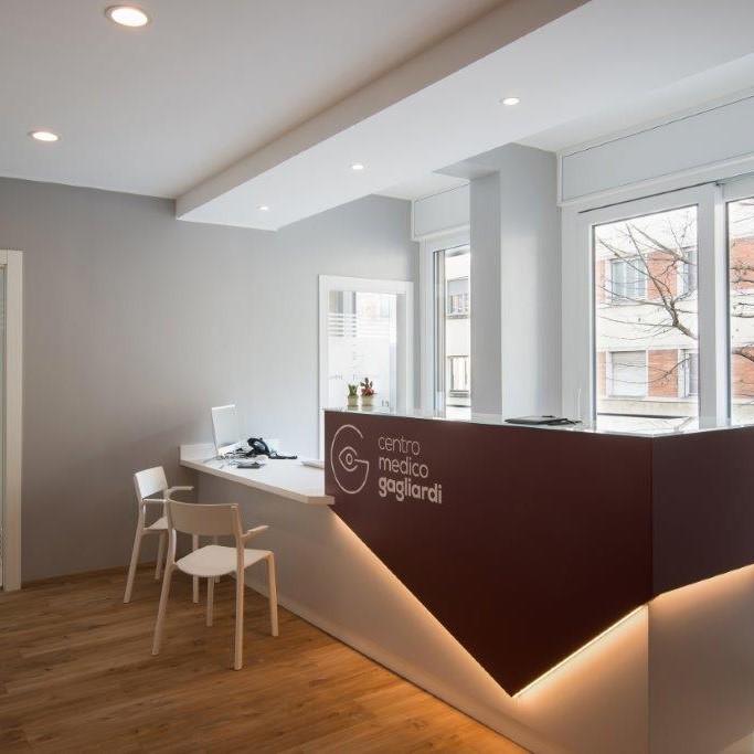 Ingresso studio medico reception